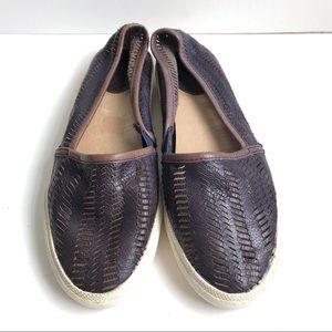 FRYE Leather Loafer Sneaker Kira Shoe Size 11